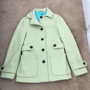 Gap green pea coat.